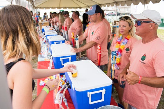 The Hop Sauce Festival returned to Veterans Memorial Park in Beach Haven on June 1.