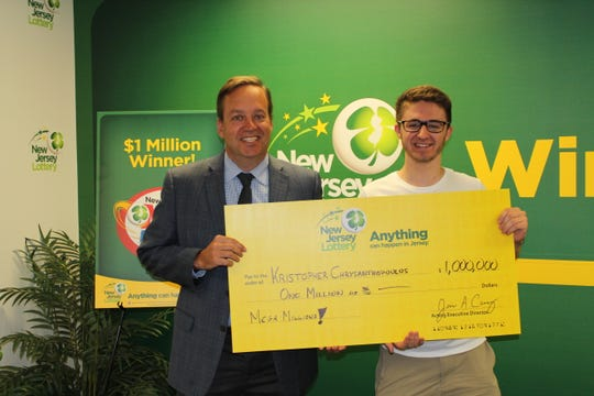 Oceanport student mulling summer job wins $1 million in NJ