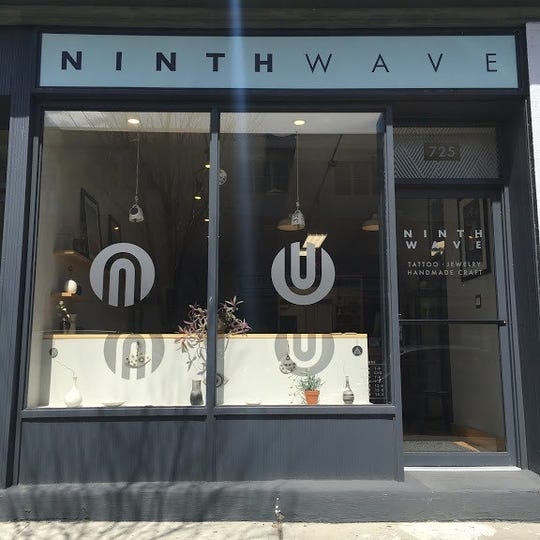 Dave and Lauren Shoemaker launched Ninth Wave on Bangs Avenue in Asbury Park in 2017.