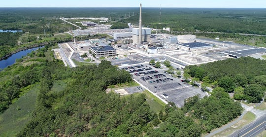 The Oyster Creek Nuclear Generating station in Lacey Township in shown Tuesday, June 4, 2019