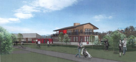 A rendering of the planned Jettie Rae's restaurant