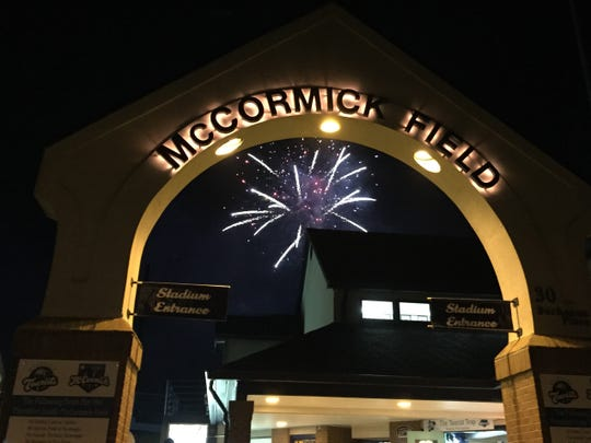 The Asheville Tourists will have fireworks again on June 14, and a larger show on July 3.