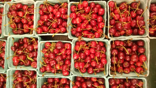 Cherries from McConnell Farms