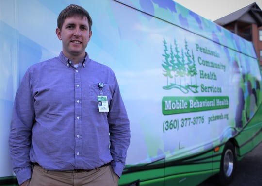 Tony Lyon-Loftus, PCHS associate medical director for Peninsula Community Health Services' mobile health team says a new van offering mobile mental health and substance abuse care is meant to make it easier for individuals who don't typically come into traditional clinics.