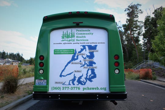 The PCHS behavioral health bus travels throughout Kitsap County to libraries, apartment complexes and community centers to get care to those unable to make it to traditional brick-and-mortar clinics.