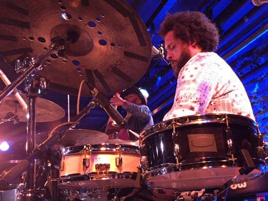 Drummer Makaya McCraven and his group play a sold-out show June 3, 2019 at FlynnSpace during the Burlington Discover Jazz Festival.