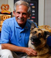 Gerald Shreiber, founder and CEO of J&J Snack Foods in Pennsauken, pledged $3 million to Rowan University to establish a pet therapy program.