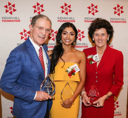 Indian Hill HS Alumni Dean Kereiakes, MD, Adhrucia Apana and Buffie Rixey were honored with the 2019 Alumni Awards by the Indian Hill Foundation.