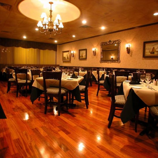 Interior of Fresco Italian Steak and Seafood Grill in Milltown.