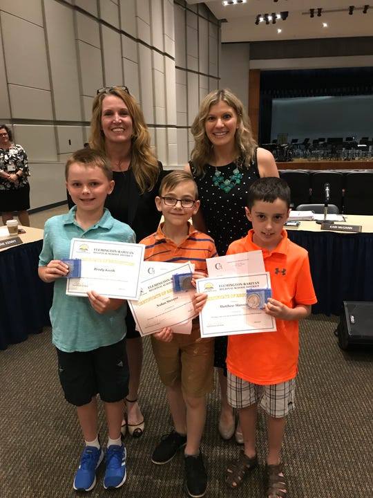 Congratulations to the following Barley Sheaf School students who earned top scores and have received awards in the Continental Math League:  Matthew Mannino, Nolan Stevens, Grade 3 and Brody Keeth, Grade 4.