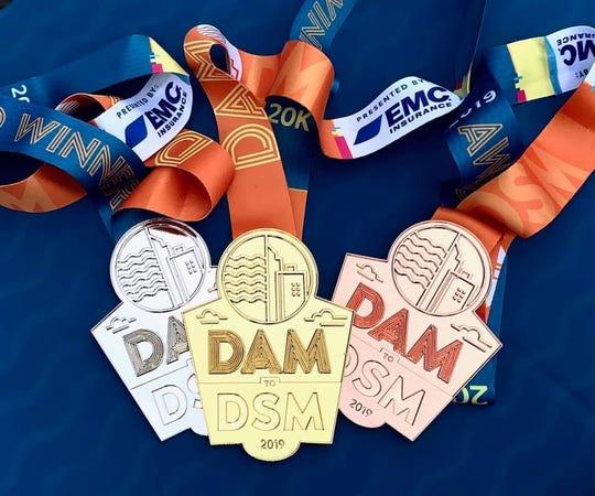 EMC DAM to DSM age-group awards.