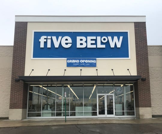 Five Below is opening at Macomb Mall in Roseville.