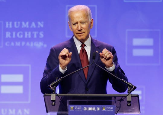 Former Vice President Joe Biden remains the front-runner in the Democratic field of presidential candidates. Candidates will face-off on two nights in July at debates in Detroit's Fox Theatre.