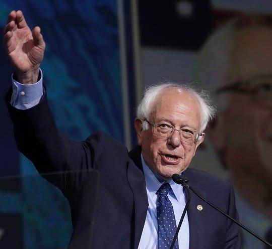 U.S. Sen. Bernie Sanders of Vermont.