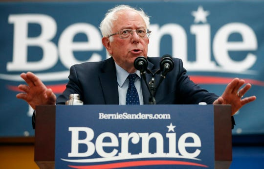 U.S. Sen. Bernie Sanders of Vermont leads Trump 53%-41% in Michigan, with 5% undecided. He has a lead over Trump among male voters.