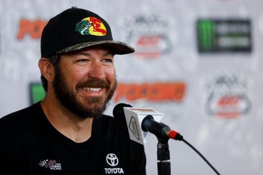 Martin Truex Jr. will be looking to pick up his fourth win of the season this weekend at MIS.