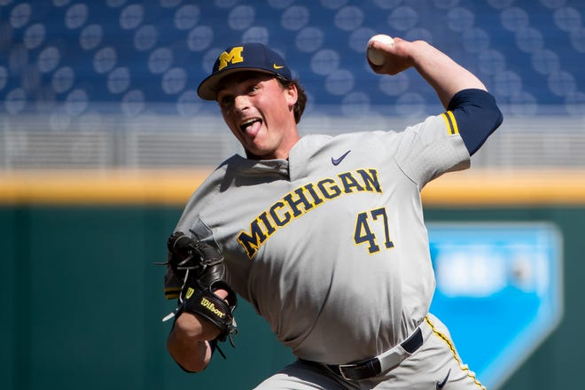 Tommy Henry was drafted in the second round Monday.