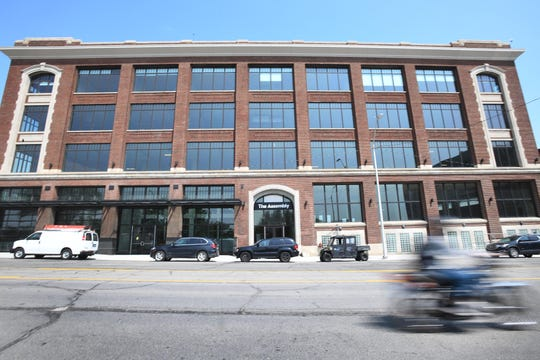 Tour of The Assembly, a renovated industrial warehouse into residential apartments and commercial space in Detroit, Michigan.