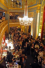 Guests throng the lobby last year at Michigan Opera Theatre's BravoBRAVO! This year's party is June 7.
