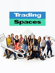 "Mikel Welch, second from right, is a new addition to this season of ""Trading Spaces."""