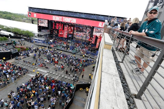 The NFL Draft, which was in Nashville in 2019, is on Detroit's wish list.