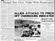 The Evansville Press front page on June 8, 1944.