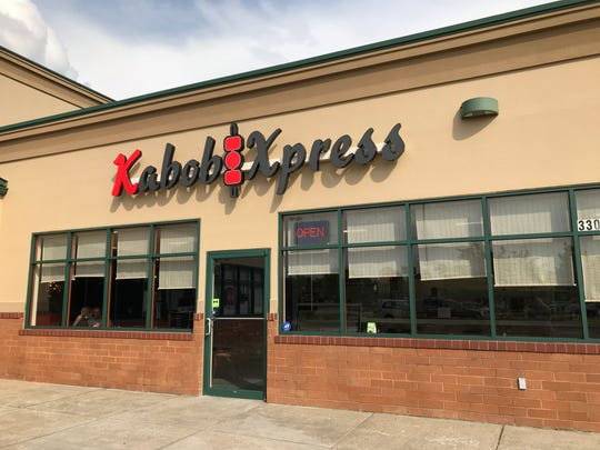 Kabob Xpress is located in the Schnuck's Plaza on North Green River Road.