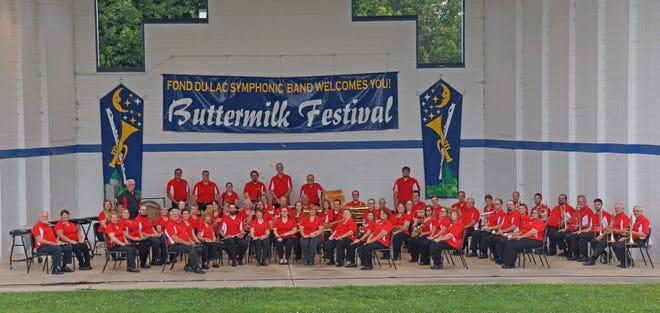 Fond du Lac Symphonic Band canceled summer concert series at Buttermilk Creek Park