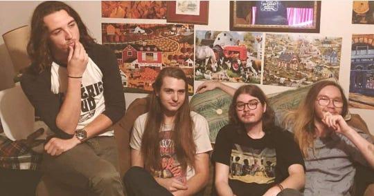 Local prog-punk band Emerald Vision