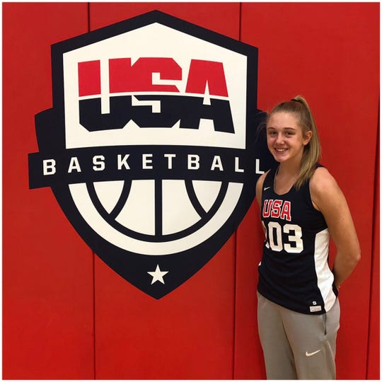 Rising sophomore Katie Ambrose got the chance to compete for a spot on Team USA's U16 National Team two weeks ago in Colorado Springs, Co.