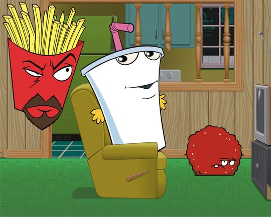 """Voice actor Carey Means played the goatee-wearing box of French fries, Frylock, on the """"Cartoon Network"""" series """"Aqua Teen Hunger Force."""""""