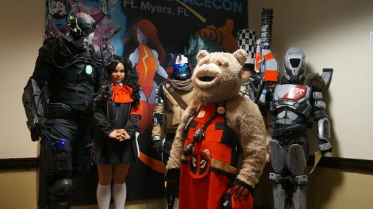 Cosplay is a big part of SWFL SpaceCon.