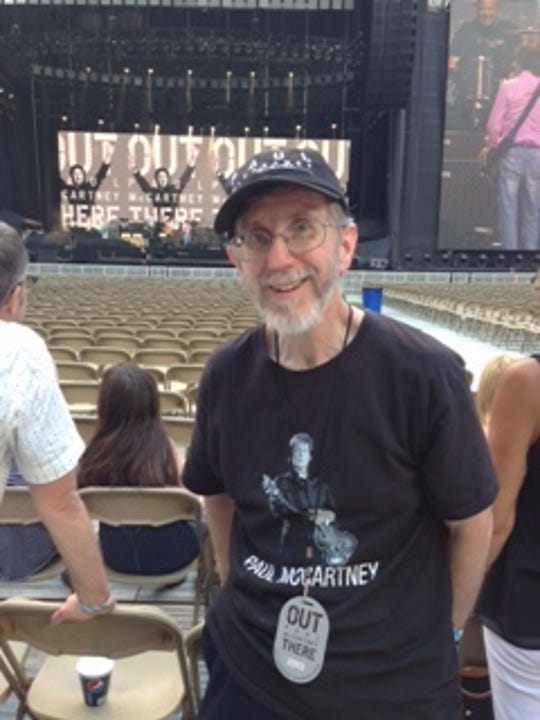 Dave Lowy, of Clinton, Iowa, will see Paul McCartney three times in six days: June 6 in Madison, June 8 in Green Bay and June 11 in Moline, Illinois.