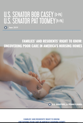 This report on nursing homes was released Monday.