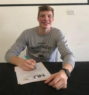 Ethan Elwell has signed with Northwest University to play soccer.
