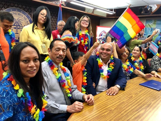 LGBTQ Pride Month proclamation signing on Tuesday, June 4, 2019.