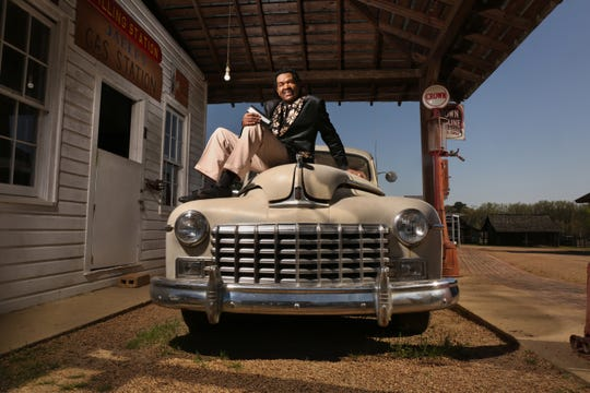 Bobby Rush poses at the Mississippi Agriculture and Forestry Museum in Jackson.