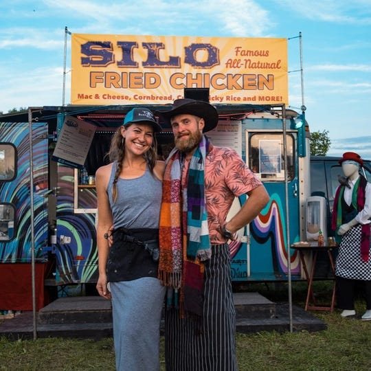 Katie Foley and Jesse Steve are the co-owners of the Silo Food Truck.