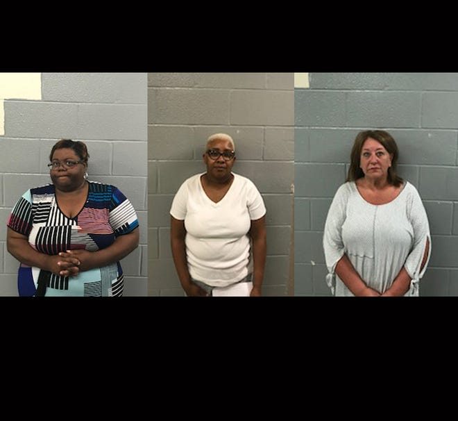 From left: Gwendolyn Jefferson, Stacie Neal, and Kappi Allen