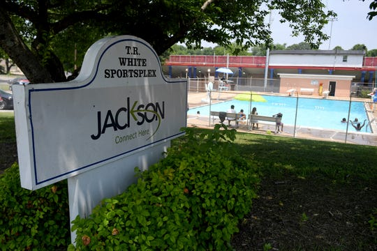 The City of Jackson's T.R. White Sportsplex public pool is open from 1pm - 4pm, Monday-Saturday.
