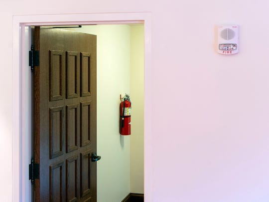 A fire alarm system was installed as part of the rebuilding of St. George Greek Orthodox Church.