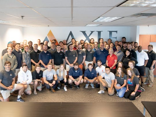 The team at Axle Logistics in their Downtown Knoxville offices on Monday, June 3, 2019