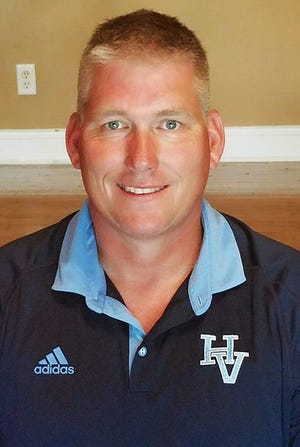 Mike Potter was named Hardin Valley's new football coach Tuesday afternoon.
