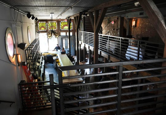 The new Lonesome Dove Western Bistro is pictured on Monday, June 20, 2016, in the Old City. Chef Tim Love's restaurant is opening Friday in the former Patrick Sullivan Saloon location. (PAUL EFIRD/NEWS SENTINEL)