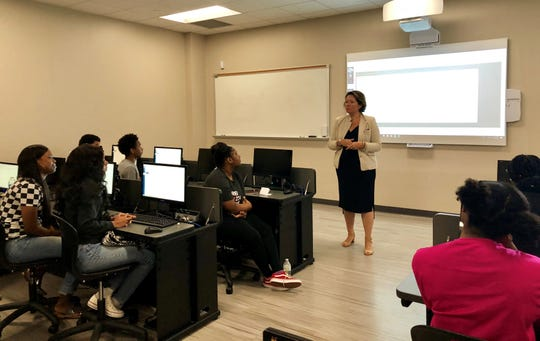 """Students from four Lafayette area high schools are taking a """"College Immersion"""" program for six weeks this summer at South Louisiana Community College."""