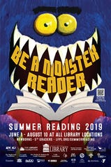 Louisville Free Public Library Summer Reading poster