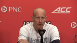 Louisville basketball coach Chris Mack discusses Nwora and Enoch opting out of the NBA draft to stay at U of L and expectations for next season.
