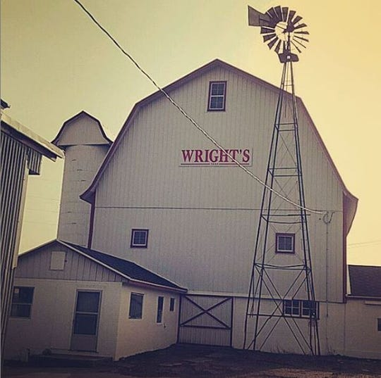 Clint Wright, of Potterville, is a fourth generation farmer at Wright's Farm. The farm was founded several decades ago by Harry Wright, Clint Wright's great-grandfather.