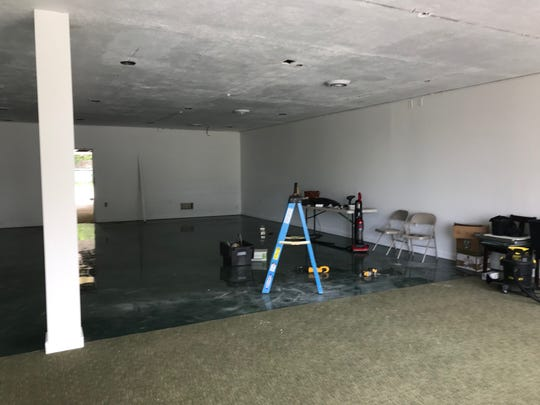 The interior of the new East Lansing Food Co-op location along Michigan Avenue. Organizers hope to open the store sometime this summer.