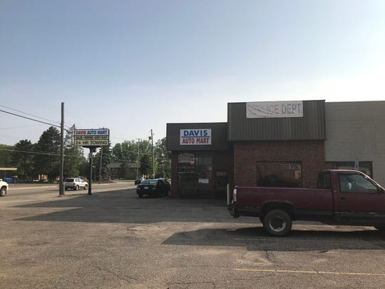 A Culver's restaurant is planned for this site on Lansing Street in Charlotte where Davis Auto Mart currently sits. That building will be demolished to make way for the new eatery.